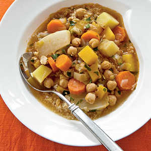 Chickpea and Winter Vegetable StewRecipe