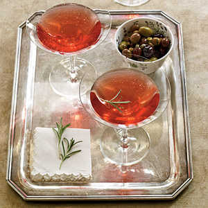 Pomegranate-Rosemary RoyaleRecipe