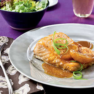 Salmon with Satsuma-Soy GlazeRecipe