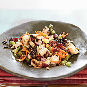 Chicken and Wild Rice Salad with Almonds Recipe