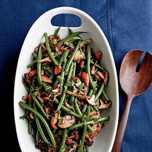 Sherried Green Beans and MushroomsRecipe