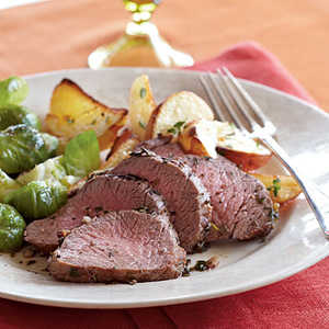 Herb-Roasted Beef and PotatoesRecipe