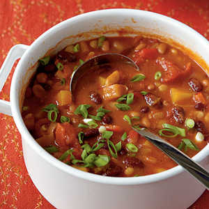 <p>Three-Bean Vegetarian Chili</p>