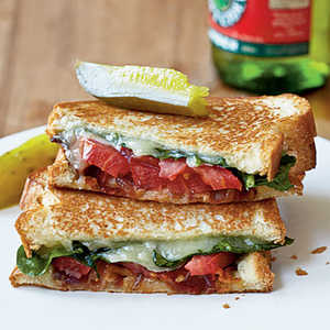 Grown-Up Grilled Cheese SandwichesRecipe