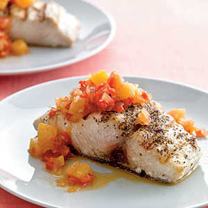 Mahimahi with Pineapple ChutneyRecipe