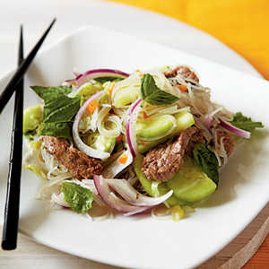 <p>Fiery Beef and Rice Noodle Salad</p>