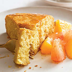 Tuscan Cake with Citrus CompoteRecipe