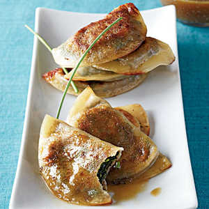 Gyoza with Soy-Citrus Sauce