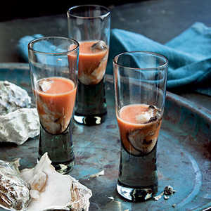 Bloody Mary Oyster ShootersRecipe