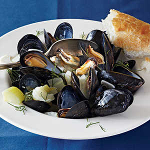 Mussels in Fennel Broth Recipe