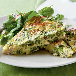 <p>Asparagus and Smoked Trout Frittata</p>