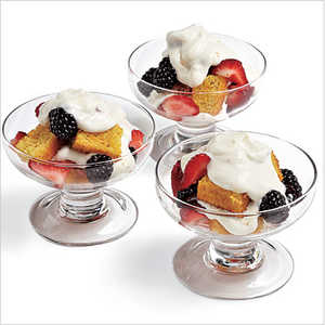 Mixed Berry Trifles Recipe