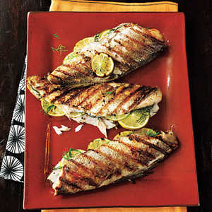 Grilled TroutRecipe