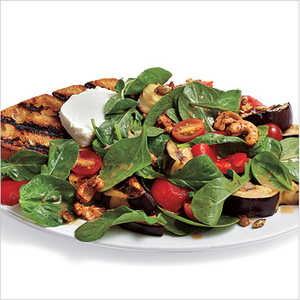 Grilled Vegetable and Goat Cheese SaladRecipe