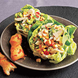 <p>Crab and Grilled Corn Salad</p>