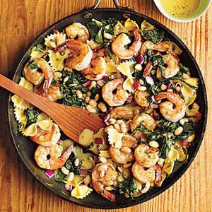Warm Pasta Salad with ShrimpRecipe