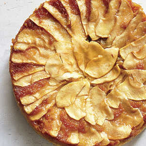 Apple Upside-Down CakeRecipe