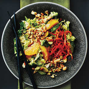 Broccoli Slaw with Oranges and Crunchy NoodlesRecipe