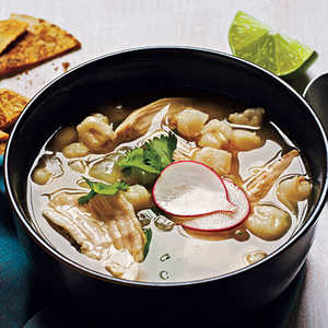 <p>Mexican Chicken-Hominy Soup</p>