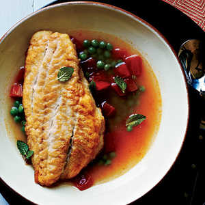Snapper in Tomato BrothRecipe
