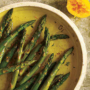 Roasted Asparagus with Browned ButterRecipe