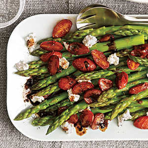 Asparagus with Balsamic TomatoesRecipe