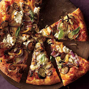 ck-Roasted Vegetable and Ricotta PizzaRecipe