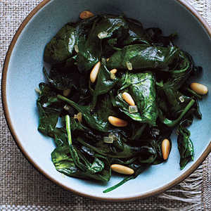 Sauteed Spinach and Pine NutsRecipe