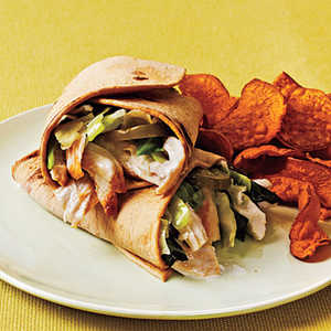 Grilled Chicken WrapsRecipe