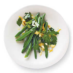 Citrus-Nut Green BeansRecipe