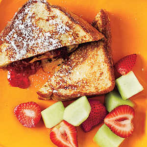 <p>French Toast Peanut Butter and Jelly</p>
