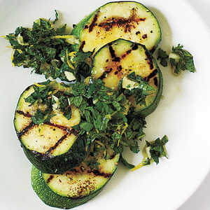 Mint Gremolata Zucchini with Sea SaltRecipe