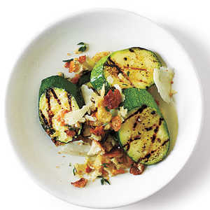 Parmigiano-Crumbed Zucchini with Sea Salt Recipe