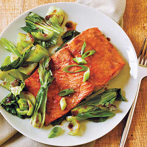 Salmon and Bok ChoyRecipe