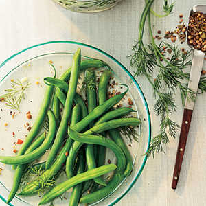 Quick Pickled Dilly Green BeansRecipe
