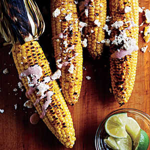 Oaxacan-Style Grilled Corn on the CobRecipe