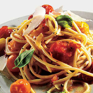 Pasta with Roasted Tomatoes and Garlic Recipe