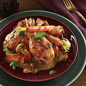 Champagne-Browned Butter ChickenRecipe