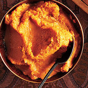 Browned Butter Bourbon Mashed Sweet PotatoesRecipe