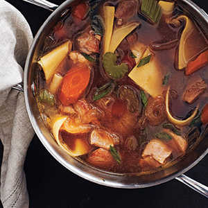 Rich Chicken Soup with Fresh NoodlesRecipe