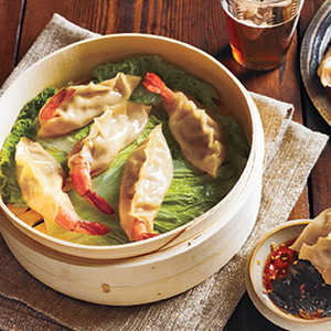 Shrimp Mandu (Shrimp Dumplings) Recipe