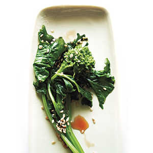 Broccoli Rabe with Sesame and SoyRecipe