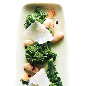 Broccoli Rabe with White Beans and ParmesanRecipe