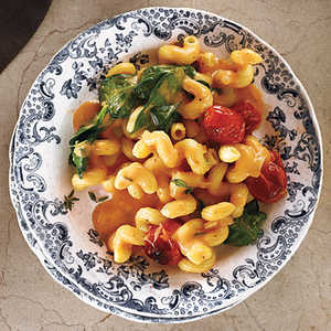 Blush Mac and Cheese with TomatoesRecipe