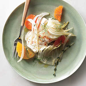 Cod with Fennel and OrangeRecipe