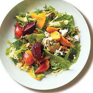 Roasted Baby Beets and Blood Orange Salad with Blue CheeseRecipe