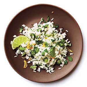 Thai Cilantro and Serrano RiceRecipe