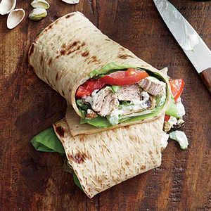 Curried Pork Salad WrapsRecipe