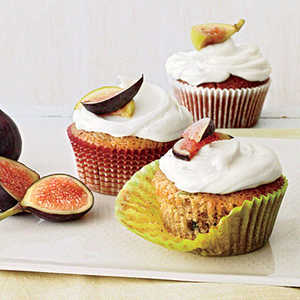 Green Tomato and Fig CupcakesRecipe