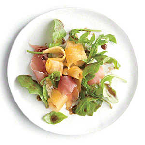 Arugula Salad with Melon and Prosciutto Recipe
